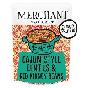 Merchant Gourmet Cajun-Style Lentils & Red Kidney Beans