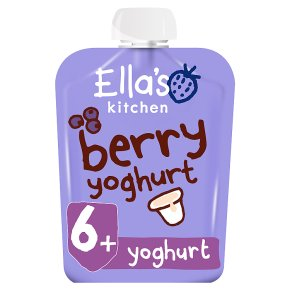 Ella's Kitchen berry yoghurt