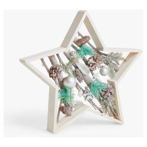 John Lewis Silver Star Frame Dec