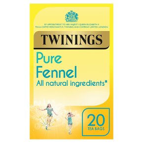 Twinings Pure Fennel Tea 20 Tea Bags