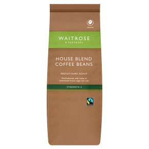 Waitrose House Blend Coffee Beans