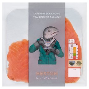 Heston from Waitrose Lapsang Souchong Tea Smoked Salmon
