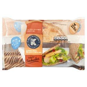 Deli Kitchen Wholemeal Folded Flatbread