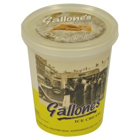 Gallone's Old English Toffee Ice Cream