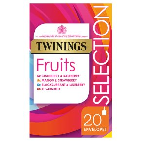 Twinings Fruits Tea Selection 20 Tea Bags