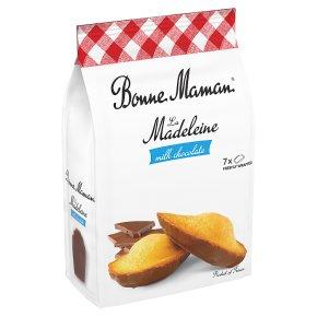 Bonne Maman 7 Madeleine Cakes with Milk Chocolate