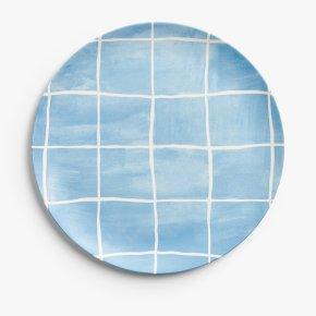 John Lewis Dinner Plate Pattern Blue