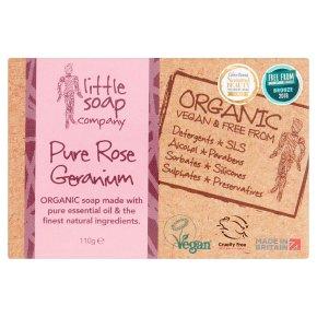 Little Soap Co Pure Rose Soap Bars