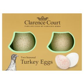 Clarence Court seasonal turkey eggs