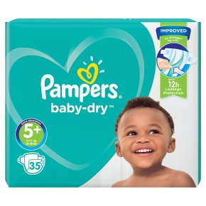 Pampers Baby-Dry Size 5+