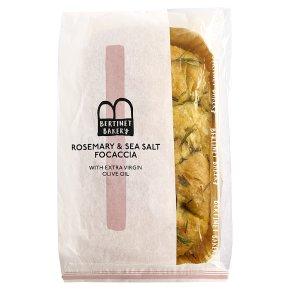 Bertinet Focaccia Rosemary & Sea Salt 320g