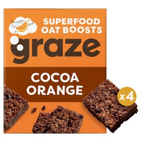 Graze Cocoa & Orange Superfood Oat Bites