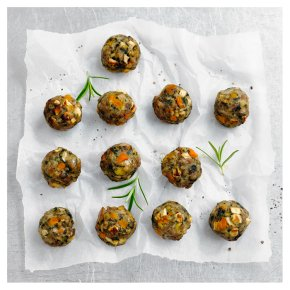 12 Chestnut, Butternut Squash & British Pork Stuffing Balls