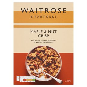 Waitrose Maple and Mixed Nut Crisp