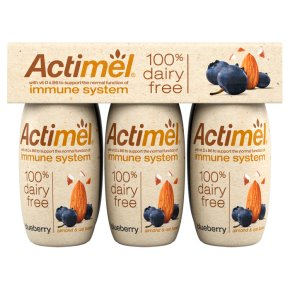 Actimel Dairy Free Blueberry