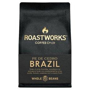 Roastworks Pe De Cedro Brazil Whole Beans