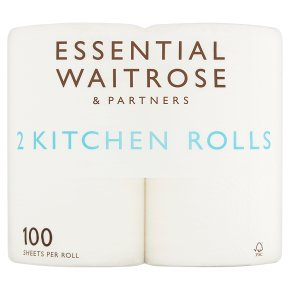 Essential 2 Extra Length Kitchen Rolls