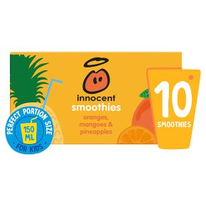 Innocent Smoothies Just for Kids Orange Mango & Pineapple
