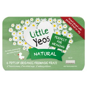 Yeo Valley Organic Little Yeos Natural Fromage Frais