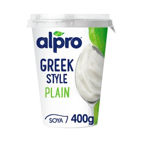 Alpro Greek Style Plain Yoghurt Alternative