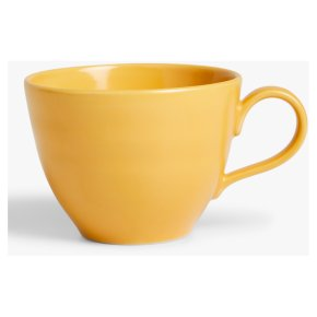 John Lewis Fluted Mustard Mug