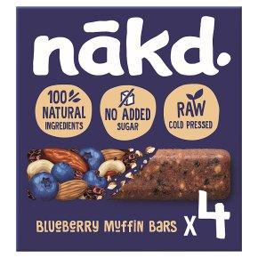 Nakd Bluberry Muffin Wholefood Bars