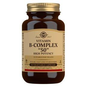Solgar B-Complex Vegetable Capsules