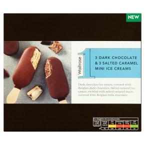 No.1 Dark Chocolate & Salted Caramel Ice Creams
