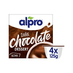Alpro Devilishly Dark Chocolate Dessert