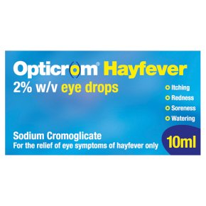 Opticrom Hayfever Eye Drops
