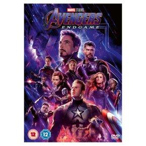 DVD Avengers Endgame