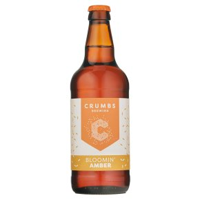Crumbs Brewing Bloomin' Amber Lager