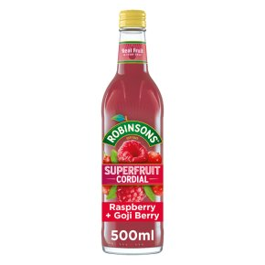 Robinsons Superfruit Cordial Raspberry & Goji