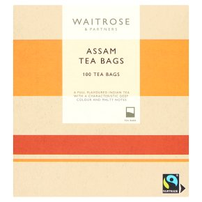 Waitrose Assam 100 Tea Bags