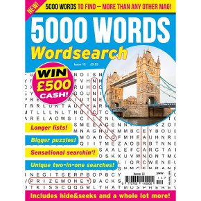 5000 WORDS WORDSEARCH