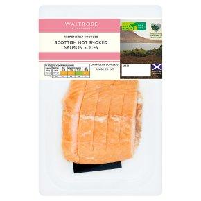 Waitrose Scottish Hot Smoked Salmon Slices
