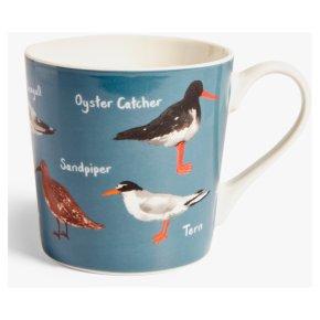 John Lewis Coastal Birds Mug