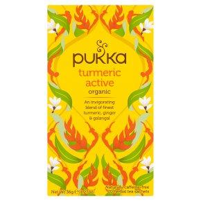Pukka Caffeine-Free Turmeric Active 20Herbal Tea Sachets