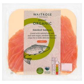 Waitrose Duchy Mild Smoked Salmon