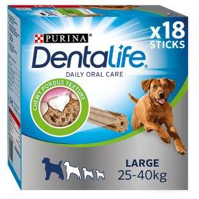 Dentalife 18 Sticks Dog Large 25Kg-40Kg