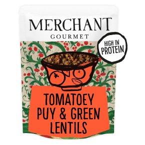 Merchant Gourmet French Tomatoey Puy & Green Lentils