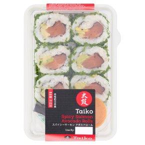 Taiko Spicy Salmon Avocado Roll