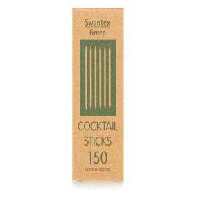 Pot of cocktail sticks