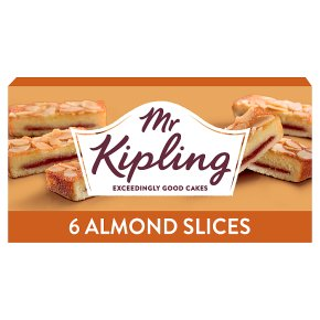 Mr Kipling almond slices