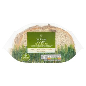 Waitrose Duchy Wheat, Rye & Sunflower Bloomer