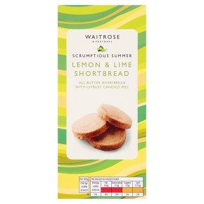Waitrose Lemon & Lime Shortbread