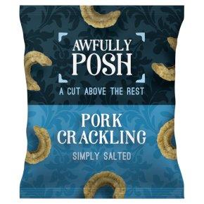 Awfully Posh salt pork crackling