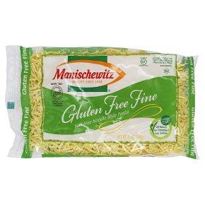 Manischewitz Fine Yolk Free Noodle Style Pasta