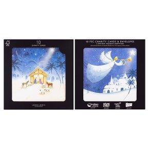 John Lewis 10 Nativity Cards