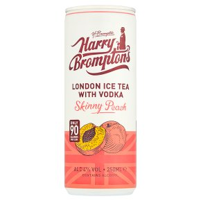 Harry's Brompton's Iced tea with Vodka Skinny Peach